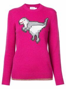 Coach dinosaur knitted jumper - Pink