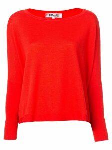 Diane von Furstenberg relax fitted jumper - Red