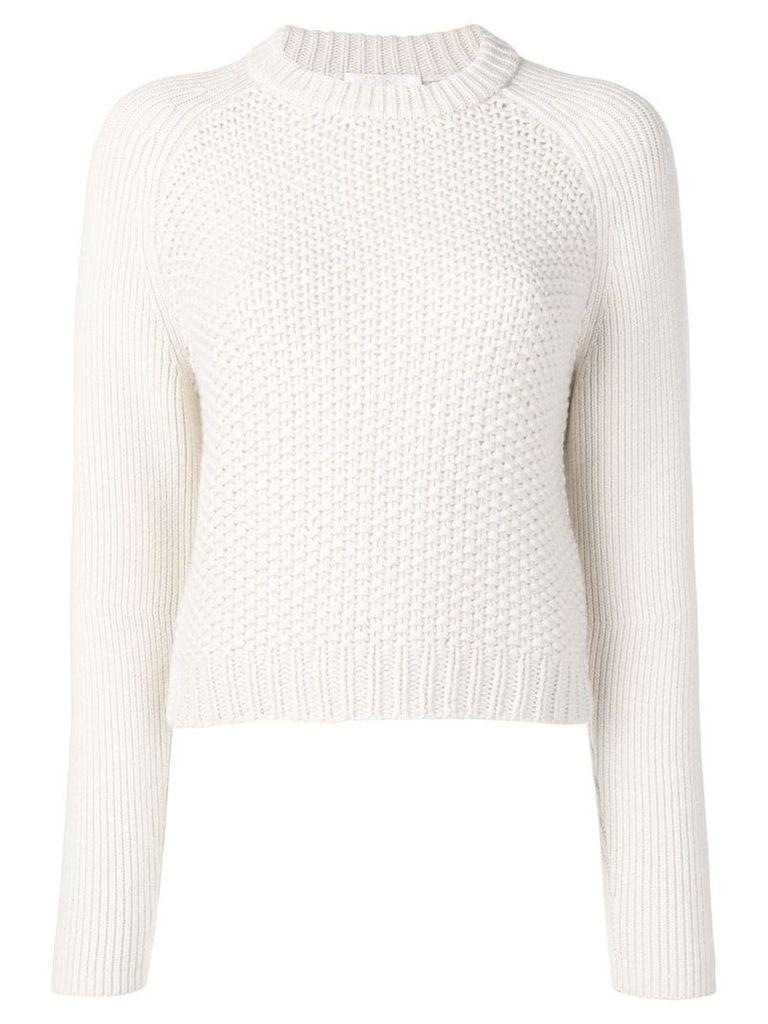 Chloé knitted jumper - White