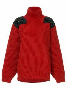 Kolor stud detailed jumper - Red