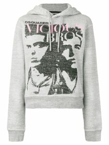 Dsquared2 Vicious Bros hoodie - Grey