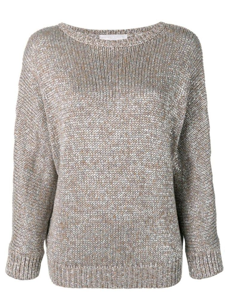 Fabiana Filippi metallic knitted sweater