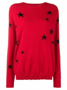 Chinti & Parker star embroidered sweater