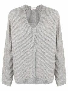 Acne Studios Deborah V-neck sweater - Grey