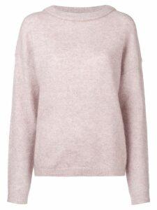 Acne Studios Dramatic oversized sweater - Pink