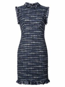 Boutique Moschino embroidered sleeveless dress - Blue