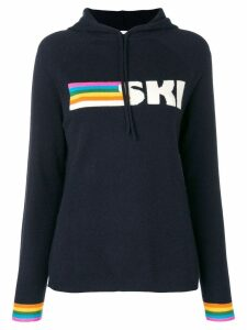 Chinti & Parker ski knitted hoodie - Blue