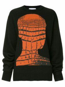 Strateas Carlucci crew neck jumper - Black
