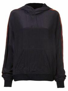 Haider Ackermann branded jersey sweater - Black