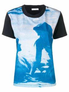 JW Anderson Californian Lovers T-shirt - Blue