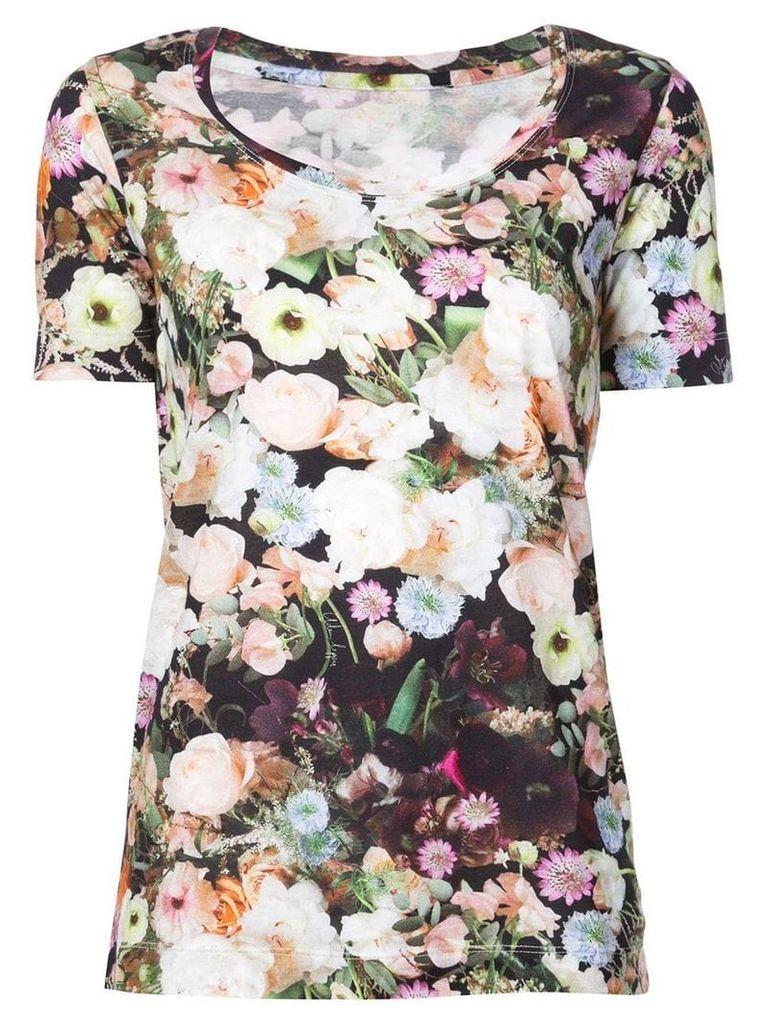 Adam Lippes floral print T-shirt - Multicolour
