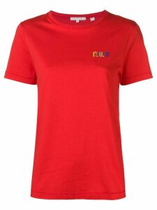 Chinti & Parker slogan short-sleeve T-shirt - Red