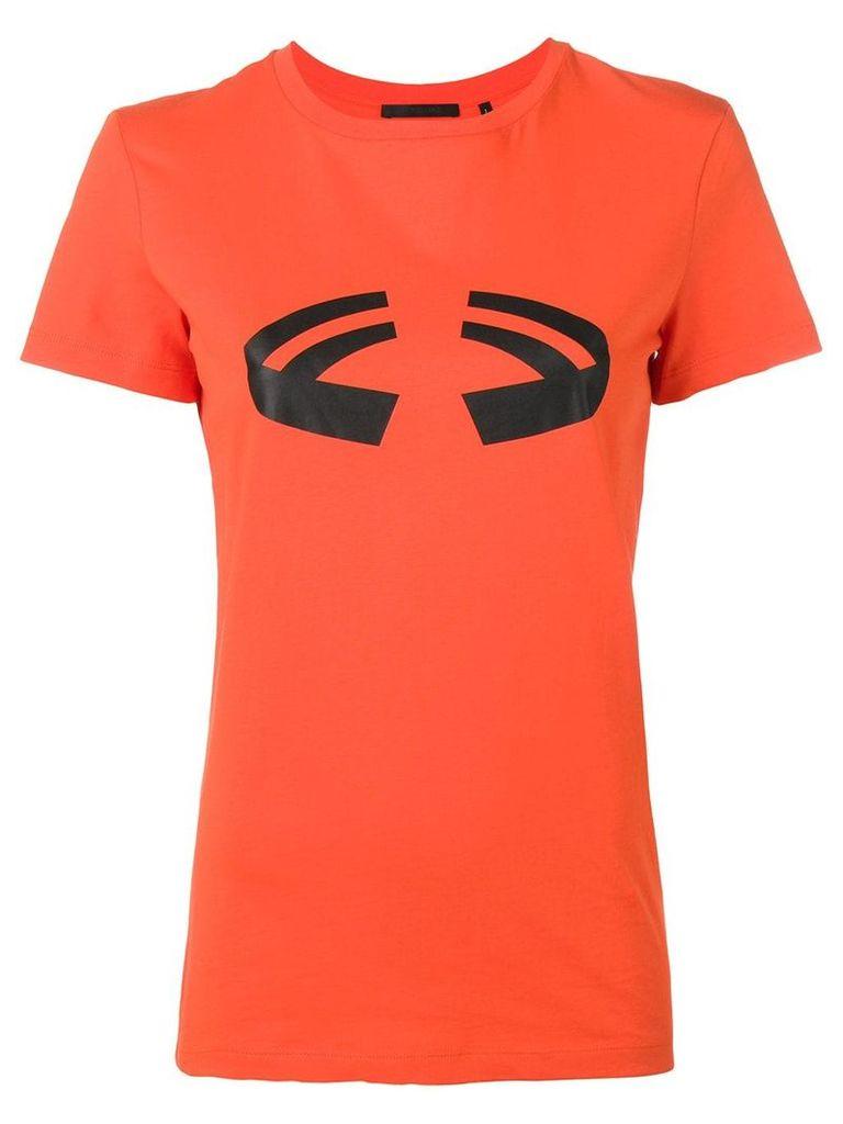 Helmut Lang printed T-shirt - Orange