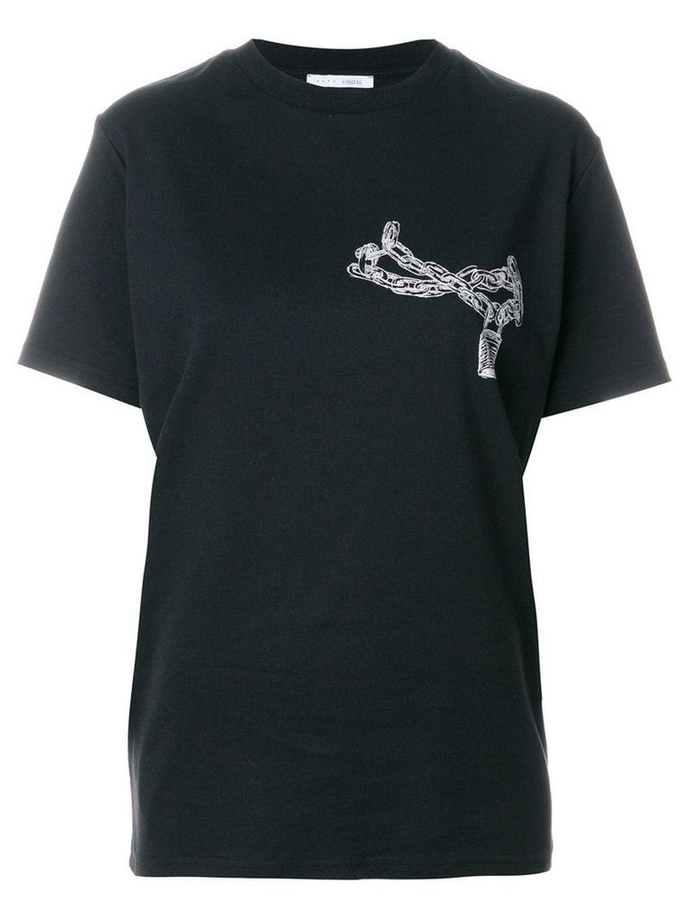 1017 ALYX 9SM chain print T-shirt - Black