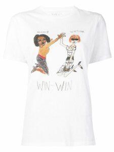 Unfortunate Portrait 'Win Win' T-shirt - White