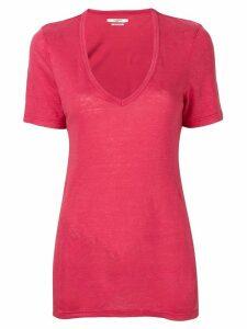 Isabel Marant Étoile V-neck T-shirt - Pink
