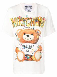 Moschino toy print T-shirt - White