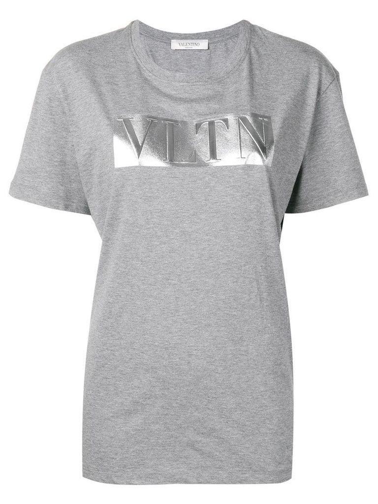 Valentino VLNT print T-shirt - Grey