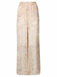 See By Chloé printed palazzo pants - Neutrals