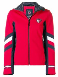 Rossignol Rossignol x Tommy Hilfiger fitted zipped jacket - Red