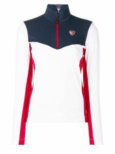 Rossignol Rossignol x Tommy Hilfiger colour block zipped sweatshirt -