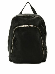 Guidi soft full grain backpack - Black