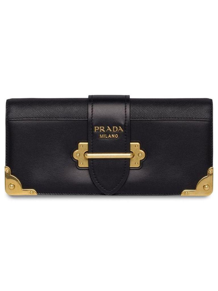 Prada Cahier clutch bag - Black