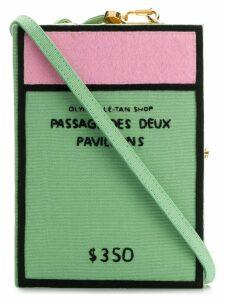 Olympia Le-Tan Passage Des Deux Pavillons clutch bag - Green