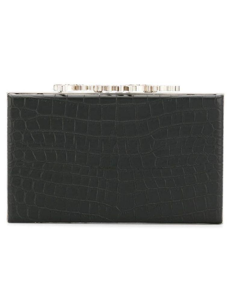 Philipp Plein square clutch - Black