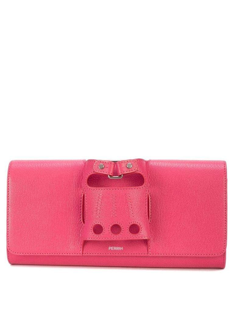 Perrin Paris Le Cabriolet clutch - Pink