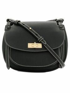 Bally saddle bag - Black