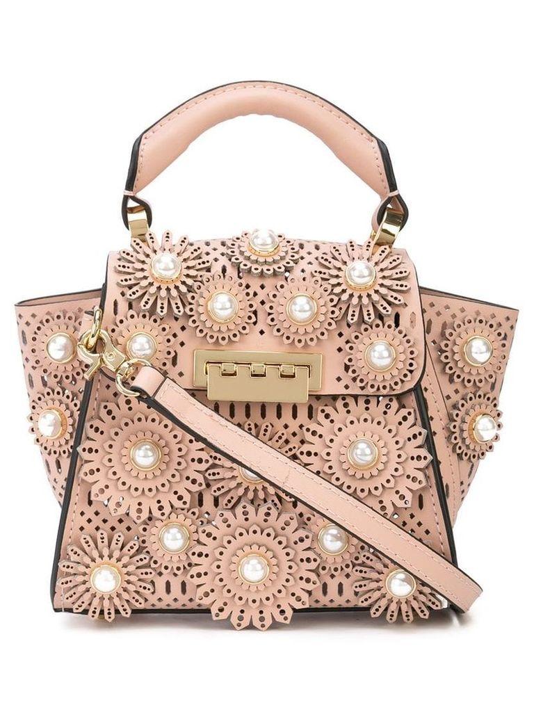 Zac Zac Posen Eartha pearl-embellished mini bag - Pink