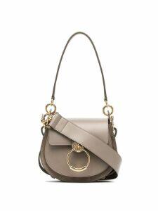 Chloé grey Tess leather shoulder bag
