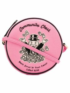 Olympia Le-Tan Community Chest shoulder bag - Pink