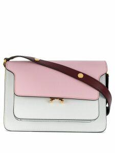 Marni Trunk mini shoulder bag - White