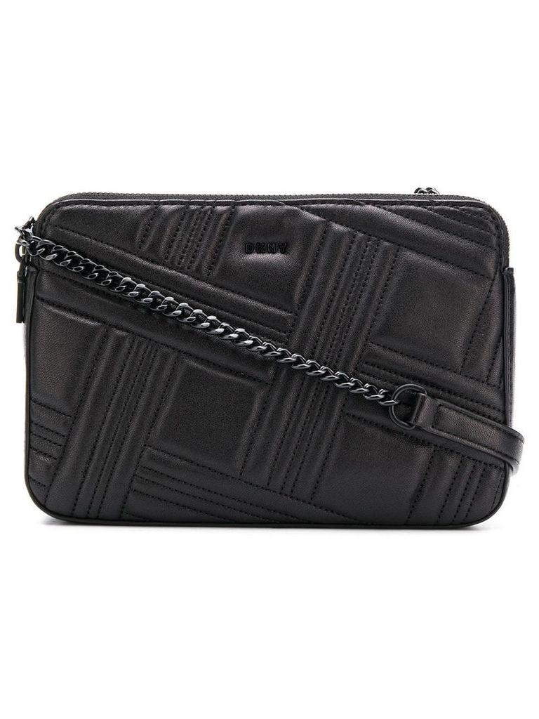 Donna Karan Allen quilted shoulder bag - Black