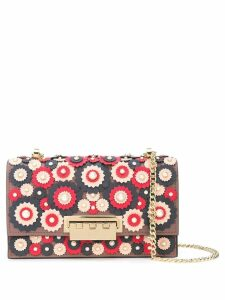Zac Zac Posen Earthette appliqué shoulder bag - Pink