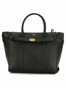 Mulberry zip tote bag - Black