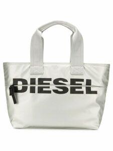 Diesel F-Bold shopper tote - Silver