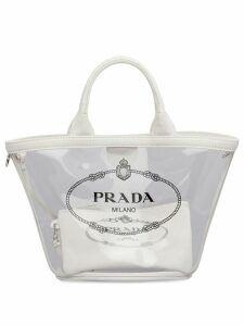 Prada transparent handbag - White