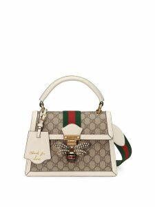 Gucci Queen Margaret small GG top handle bag - Neutrals