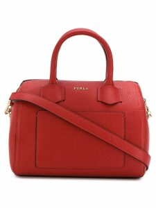 Furla Alba barrel tote - Red
