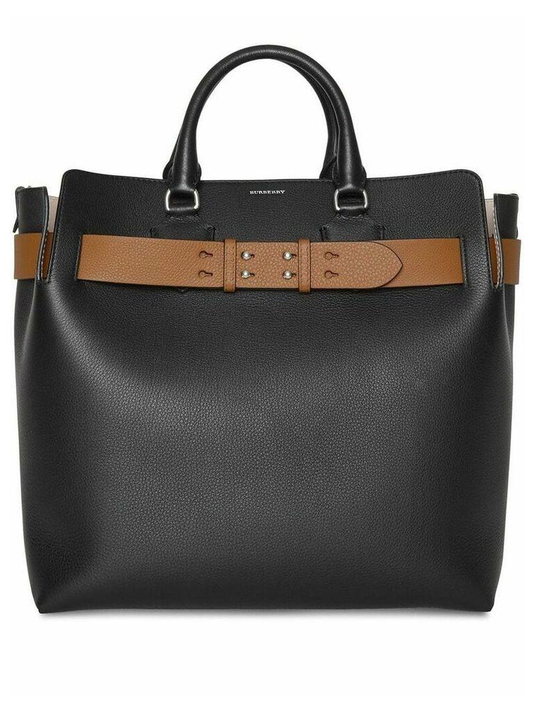 Burberry large belt bag - Black