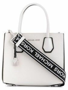 Michael Michael Kors Mercer messenger bag - White