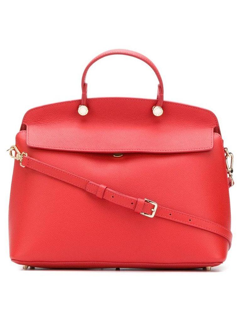 Furla My Pipier medium tote bag - Red