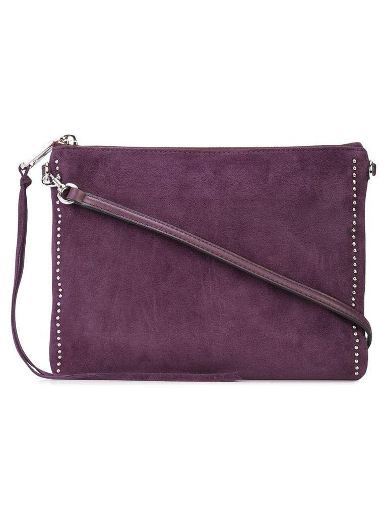 Rebecca Minkoff stud embellished crossbody - Purple
