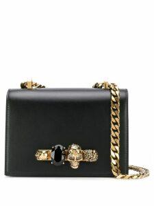 Alexander McQueen knuckle duster shoulder bag - Black