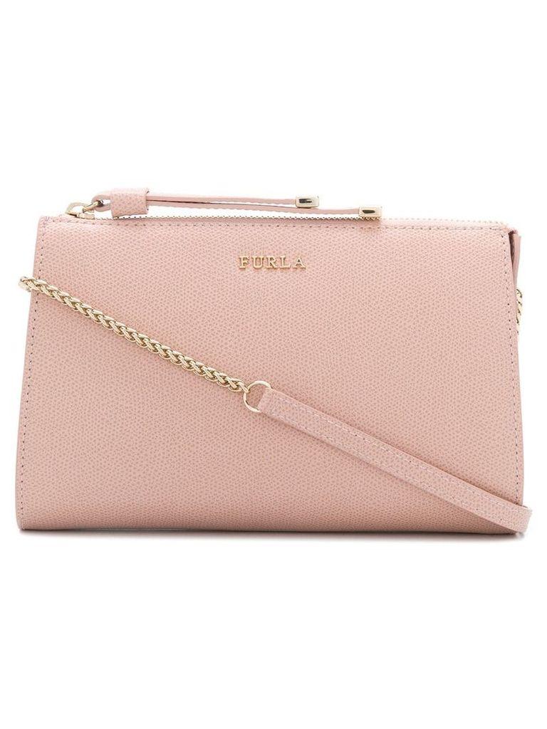 Furla logo shoulder bag - Pink