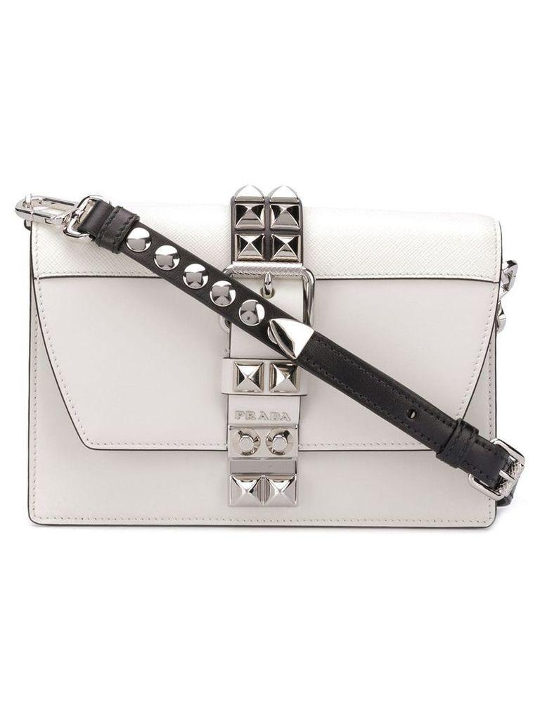 Prada small Elektra crossbody bag - White