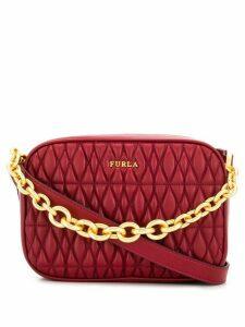 Furla Cometa quilted camera bag - Red